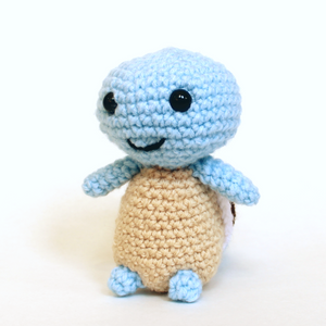 "Squirtle Crochet 6"" Tall"