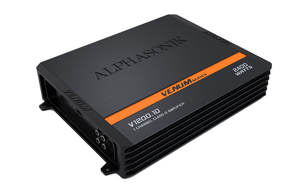 Alphasonik  V1200.1D 1-Channel 2400 Watt Amplifier