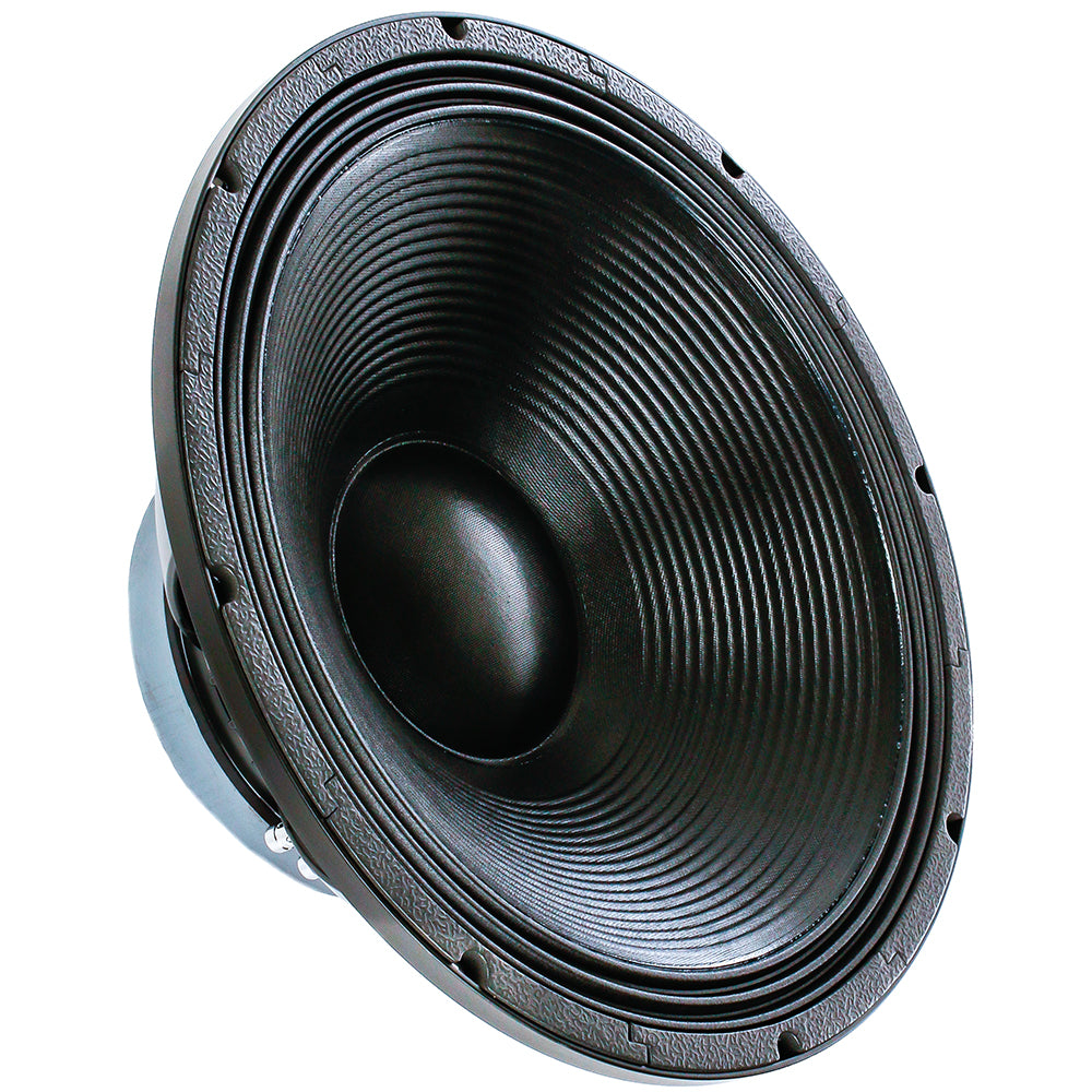 "Alphasonik 18"" Flagship Series 3000 Watts Raw Sub Woofer Speaker Cast Aluminum Basket Driver for Pro Audio PA DJ Cabinets Subwoofer with High Handling Power Extremely Clear and Loud - FW1832"