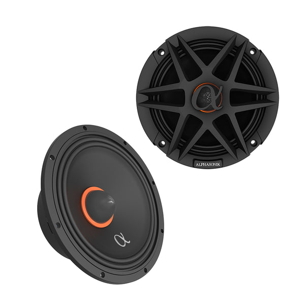 Alphasonik Midrange ABM65 Speaker Pair