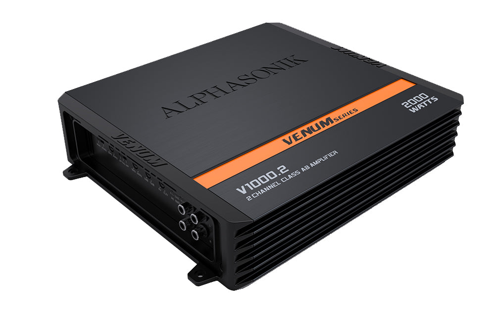 Alphasonik V500.2 2-Channel Amplifier