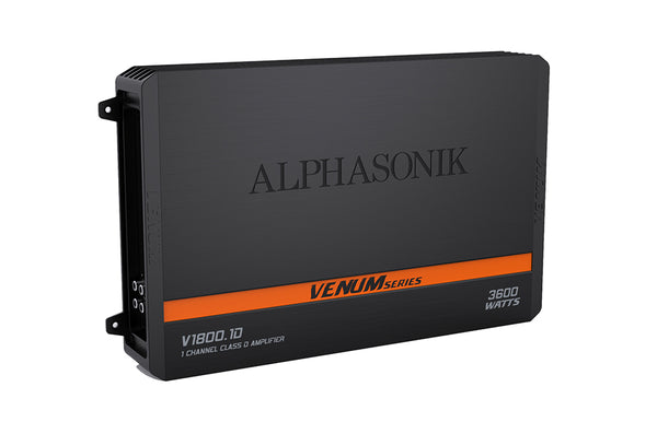Alphasonik  V1800.1D 1-Channel 3200 Watt Amplifier