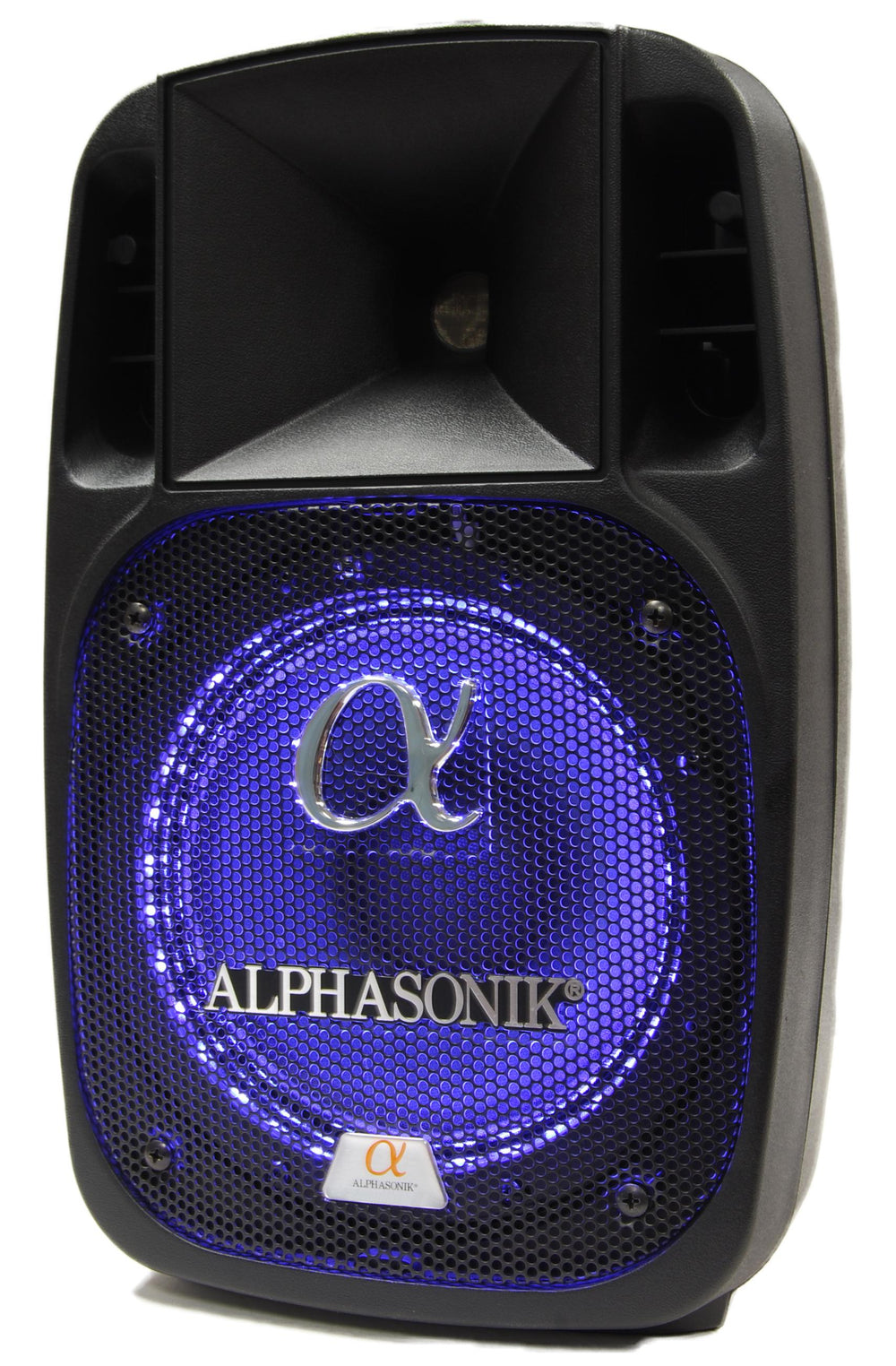 "Alphasonik AKDJ125BTS 12"" Powered 2000W PRO DJ Amplified Loud Speaker"