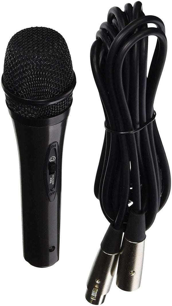 Alphasonik Professional Grade Universal Multi-Directional Moving Coil Dynamic Handheld Microphone