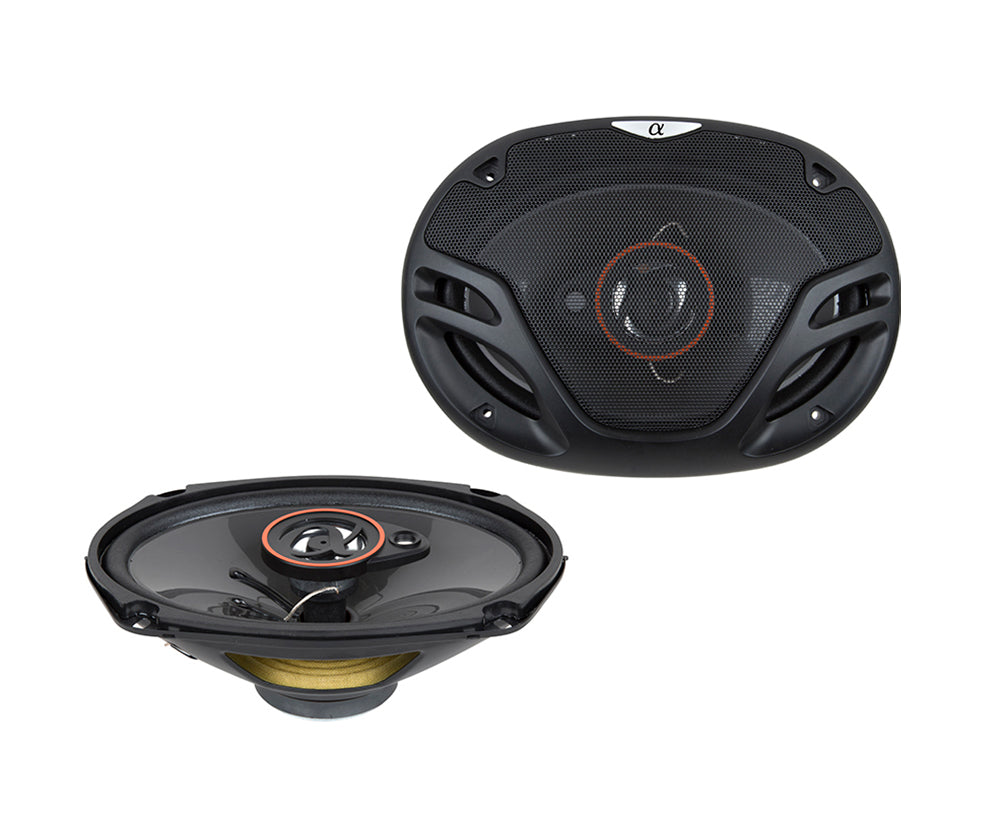AS29 1 Pair 6X9 inch 500 Watts Max 3-Way Car Audio Coaxial Speakers