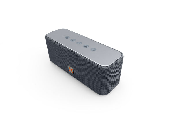 Alphasonik CORE Home Wireless Portable Speaker with HD Sound and Bass, Built-in Mic, Micro USB, Aux 3.5mm and Built in 2000mah Long Lasting Battery