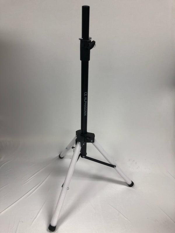 Alphasonik Universal 6 Feet Adjustable Height 35mm Tripod DJ Speaker Stand w/Variable LED Lights