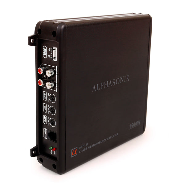 ALPHASONIK APP122 Complete 1500 Watts Dual 12