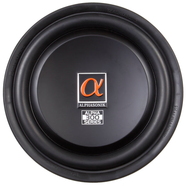 "Alphasonik Treis 300 Series 12"" Car Audio Shallow Subwoofer"