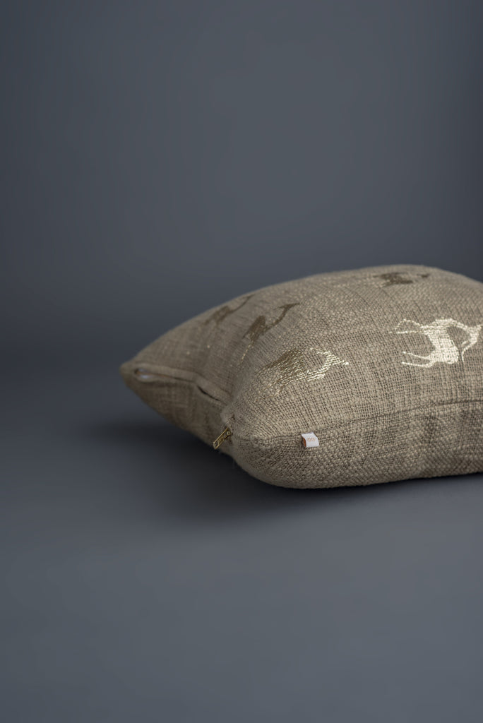 Vayu Signature Cushion Khaki