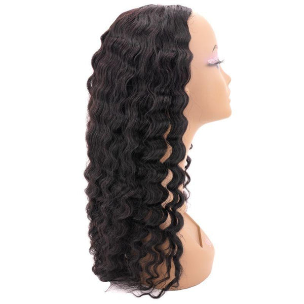 Brazilian Deep Wave U-Part Wig