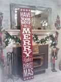 Have yourself a Merry Little Christmas - jumbo large 12x72""