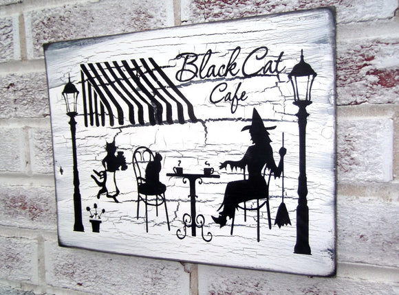 Black Cat Cafe - Halloween