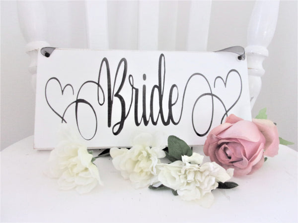 Bride sign for Bridal Shower or Wedding Chair