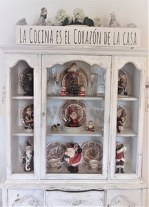 La Cocina es el corazon de la casa - The kitchen is the heart of the home IN SPANISH