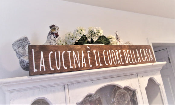 La cucina e il cuore della casa - The kitchen is the heart of the home IN ITALIAN