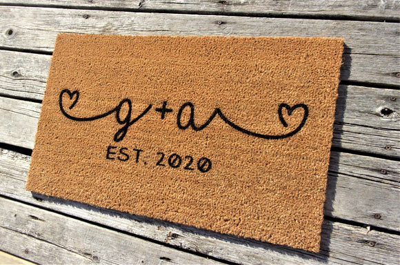 Established date and initial doormat