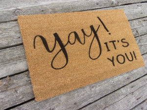 Yay it's you doormat
