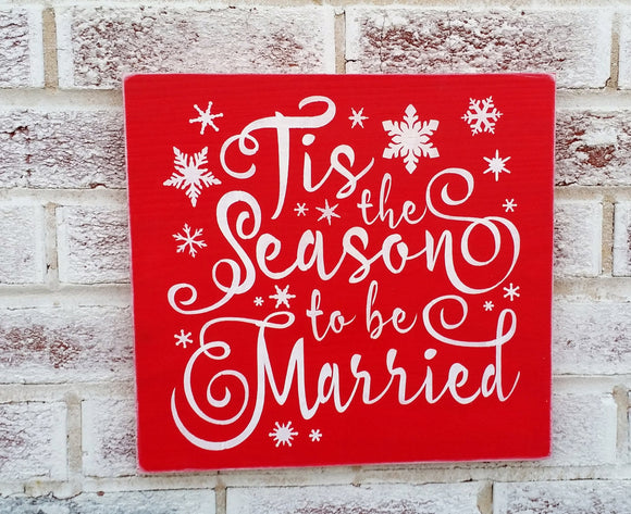 Tis the season to be married 12x12