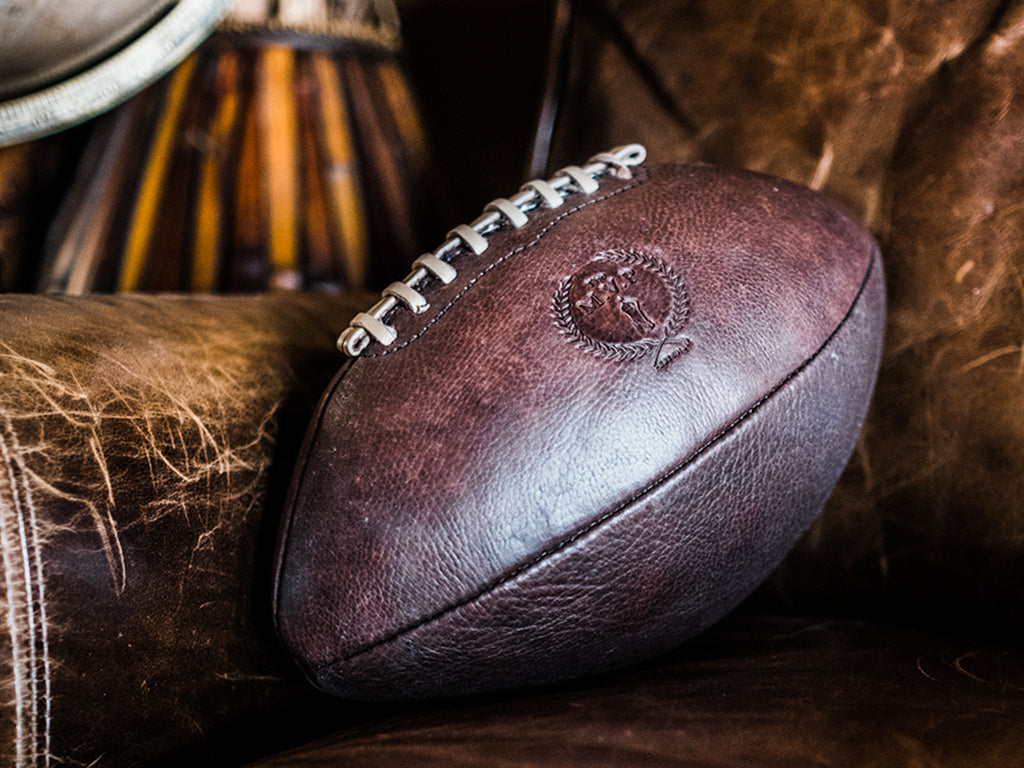 Custom Made Designer Leather American Football Vintage Style