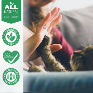 Breathe Easy Respiratory Support for Cats - Eases Cough, Runny Nose and Cat Flu - (450 pills)