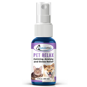 Pet Relax Calming Anxiety Relief Spray for Pets - BestLife4Pets