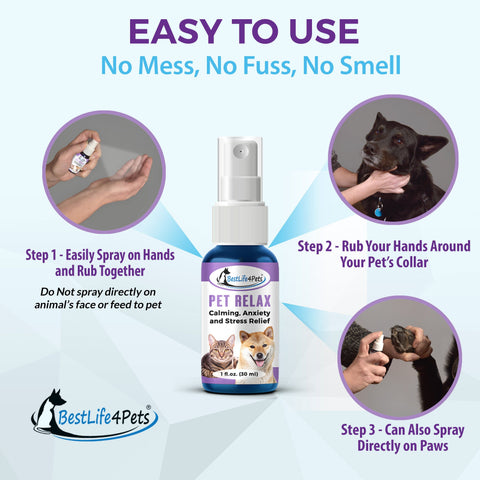 Image of Fear Management Spray for Pets