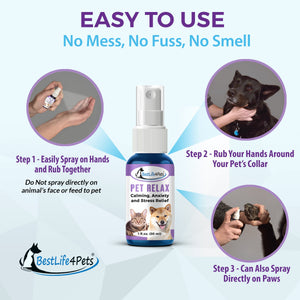 Fear Management Spray for Pets