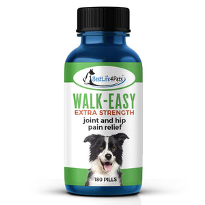 WALK-EASY Extra Strength Arthritis and Joint Pain Relief Remedy (180 pills) - BestLife4Pets