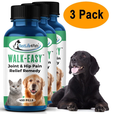 Image of WALK-EASY Joint and Hip Pain Relief Remedy for Dogs and Cats (450 pills)