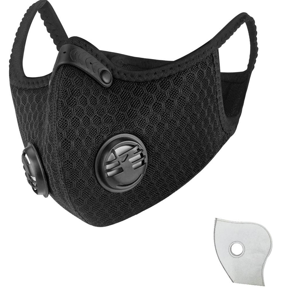 Respirator Mask With Replaceable Filter - Urban Emergency Survival Kits