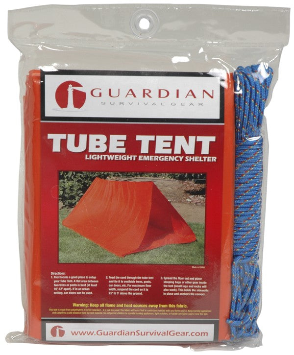 2 Person Tube Tent With Cord - Urban Emergency Survival Kits
