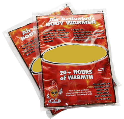 INSTANT BODY WARMERS - Urban Emergency Survival Kits