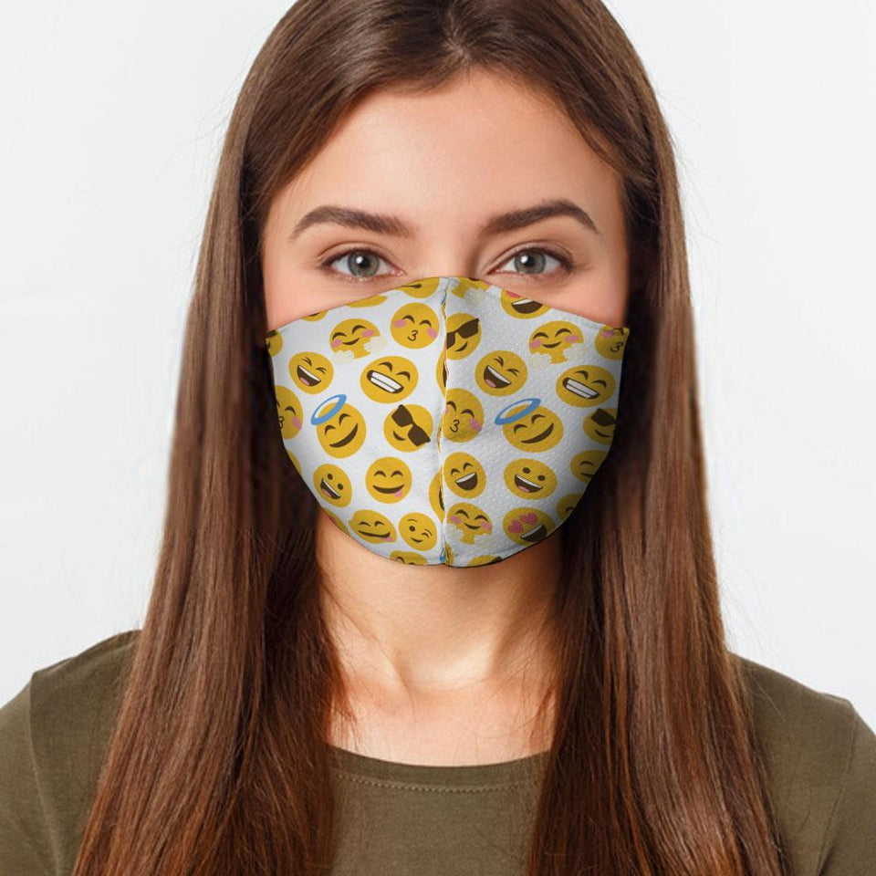 Emoji Preventative Face Mask - Urban Emergency Survival Kits