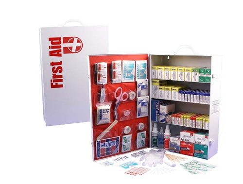 4 SHELF FIRST AID CABINET - Urban Emergency Survival Kits