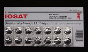 POTASSIUM IODIDE (IOSAT) - Urban Emergency Survival Kits