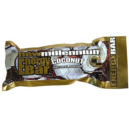 CASE OF 144 COCONUT BARS - Urban Emergency Survival Kits