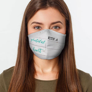 Grateful Heart Preventative Face Mask - Urban Emergency Survival Kits