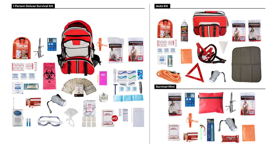 PREPAREDNESS PACKAGE #1 - Urban Emergency Survival Kits