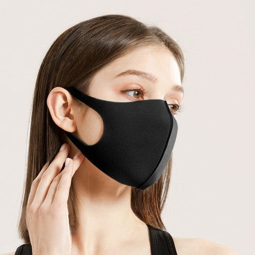 Urban Black Anti Bacterial Dust Masks (3 Piece Set) - Urban Emergency Survival Kits