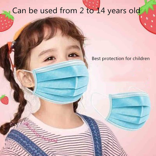 Childrens Disposable Anti-Virus Masks - Urban Emergency Survival Kits