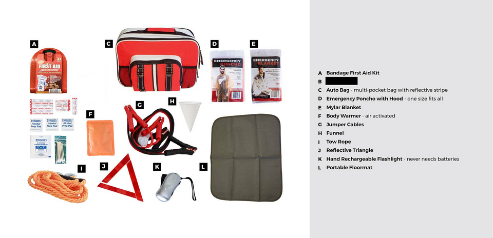 AUTO KIT - Urban Emergency Survival Kits