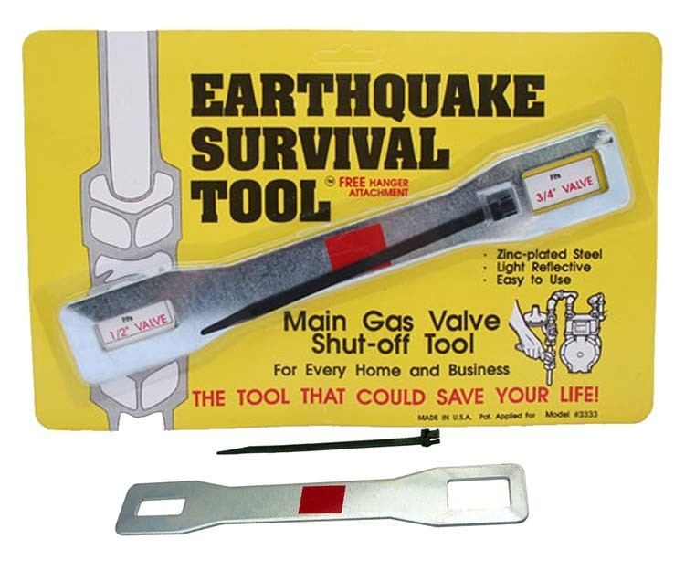 GAS SHUT OFF TOOL - Urban Emergency Survival Kits
