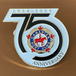 75 years anniversary pin