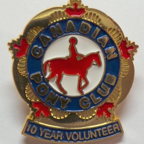 10 Year Volunteer Pin