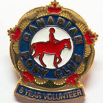 5 Year Volunteer Pin