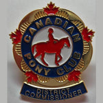 District Commissioner Pin
