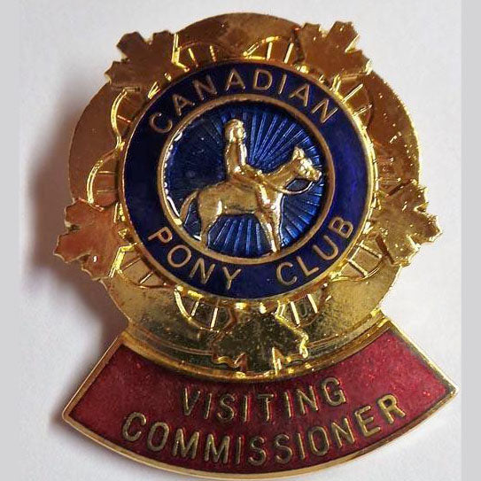 Visiting Commissioner Pin