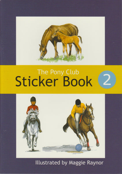The Pony Club Sticker Book 2