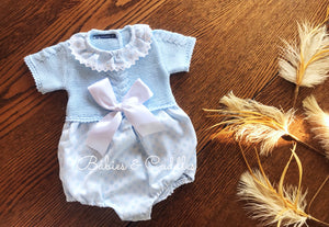 2102 Half Sleeve Newborn Baby Romper from Babies & Cuddles